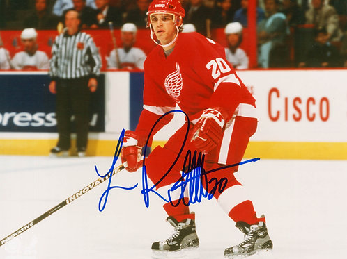 Luc Robitaille - Signed 8x10 Photo