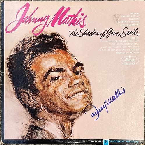 Johnny Mathis Autographed LP