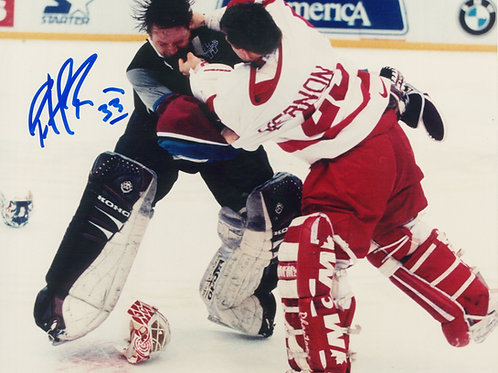 Patrick Roy Signed 8x10 Photograph