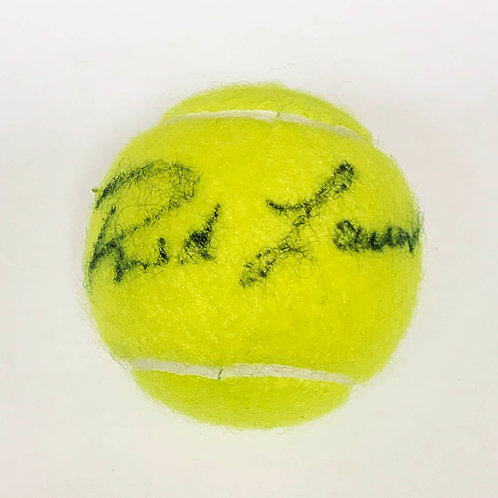 Rod Laver Signed Tennis Ball