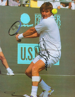 Jimmy Connors - Signed 8x10 Photo - Backhand2