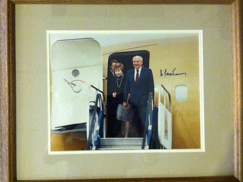 Mikhail Gorbachev Autographed Photo
