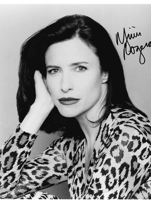 Mimi Rogers Autographed 8x10 Photo