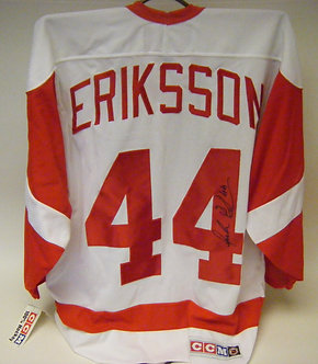 Anders Eriksson Autographed Jersey