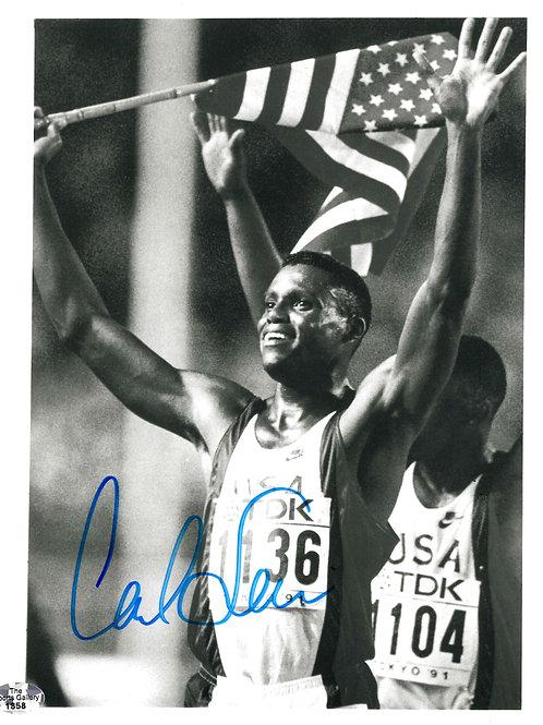 Carl Lewis Autographed Photo