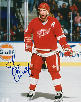 Steve Chiasson - Signed 8x10 Photo