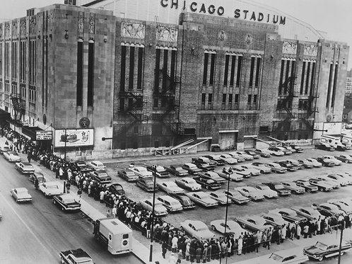 Chicago Stadium Photograph