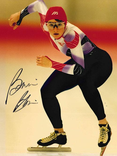 Bonnie Blair Autographed Photo