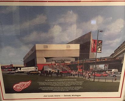 1997 Red Wings - Joe Louis Picture Framed