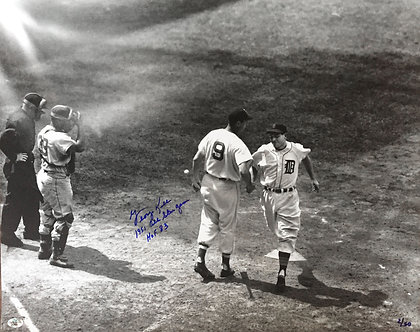 George Kell Ted Williams Signed Photo '51 All-Star
