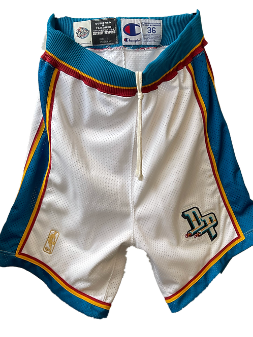 Detroit Pistons Game Issued Shorts