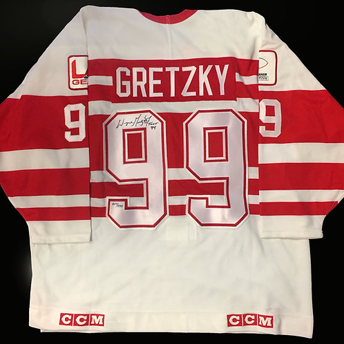 Wayne Gretzky Signed Ninety-Niners Jersey