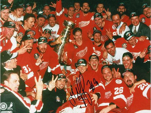 Sergei Fedorov 1998 Stanley Cup Red Wings Photo