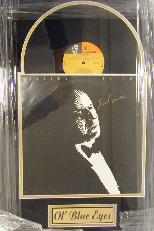 "Frank Sinatra ""Ol' Blue Eyes"" Autographed Record"