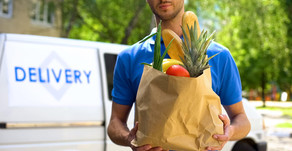 Grocery Home Delivery - Early days of Coronavirus Impact