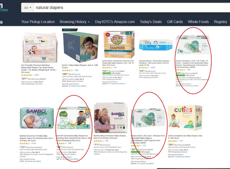 "How to Win Search in ""Natural"" Diapers"