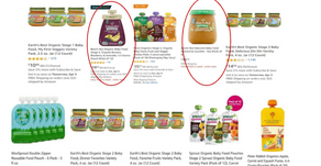 """How Do National Brands Maintain Market Share in """"Natural Baby Food""""?"""