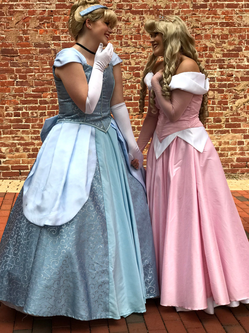 Glass Slipper Princess and Rose Princess