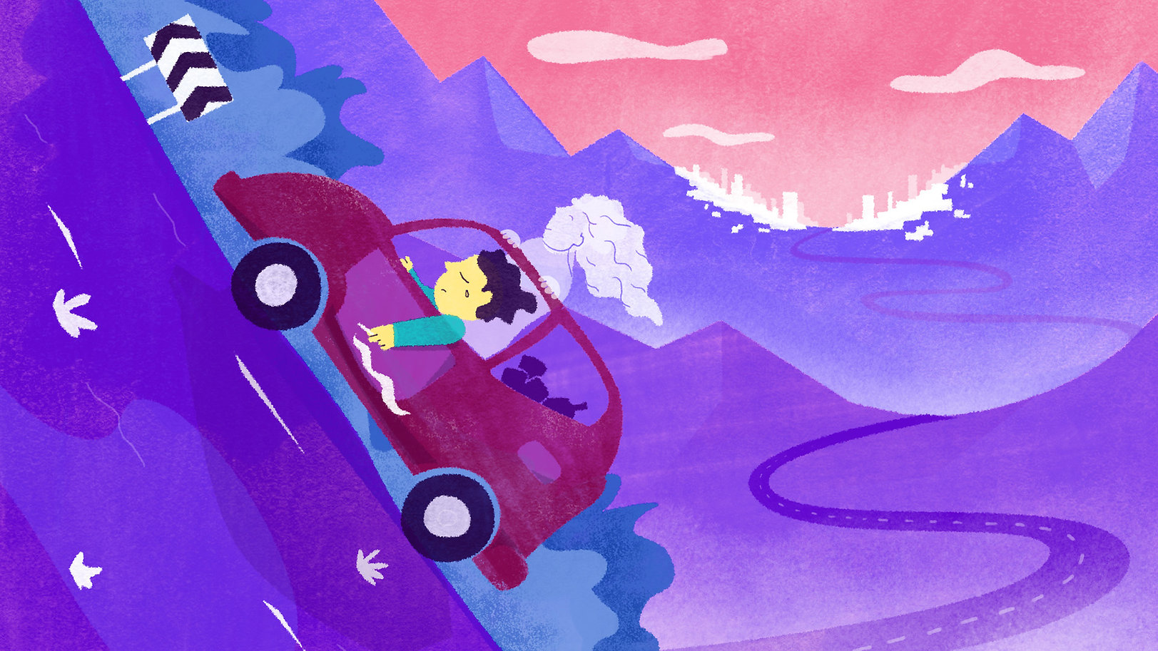 conduite Uphill