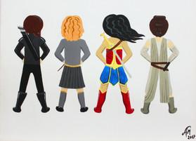 Isla's Super Women