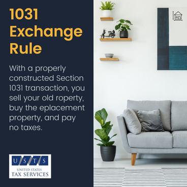 1031 Exchange Rule
