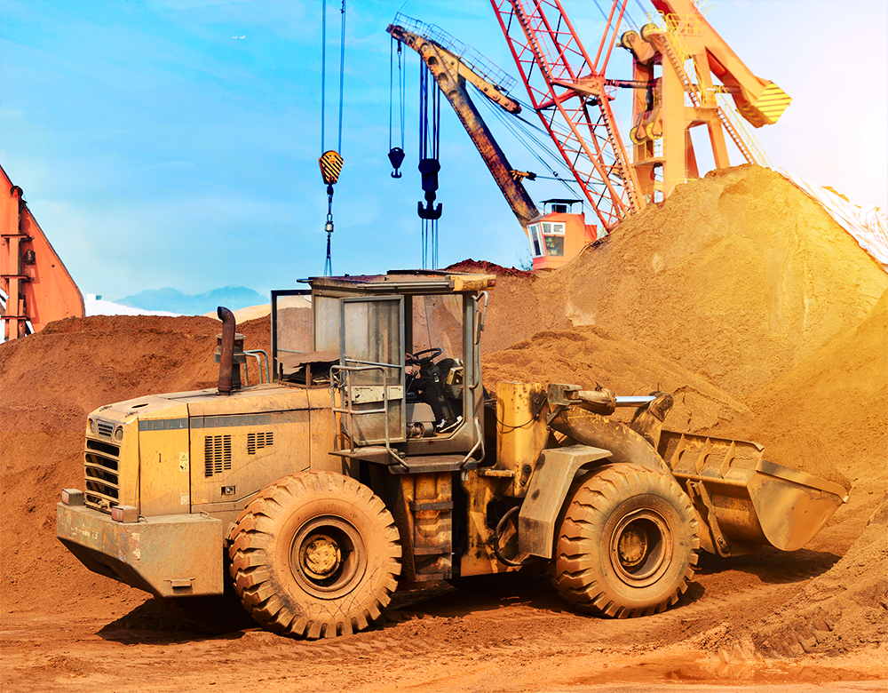 heavy equipment business solution