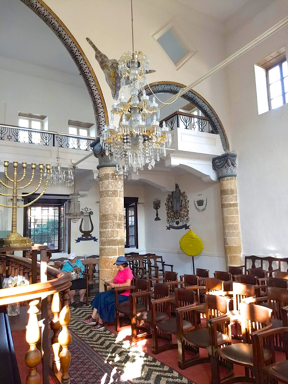 The Kal Kadosh Synagogue is one of the main touristic destinations on the island of Rhodes.
