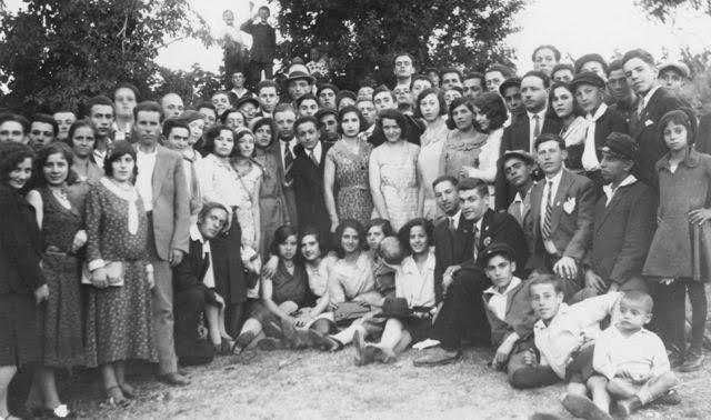Jews in Bitola, in present-day Macedonia.