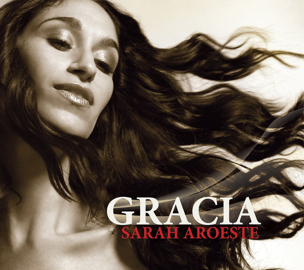 """Cover of """"Gracia,"""" a CD of Ladino songs sung and arranged by Sarah Aroeste."""