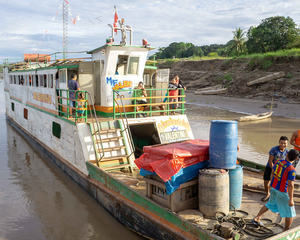boat trip amazon pucallpa