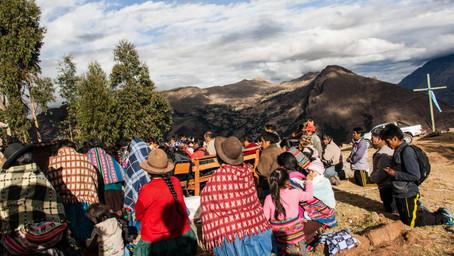 I've Had enough of Viacha's Quechua Mass, Let's Go Explore the Potato Park