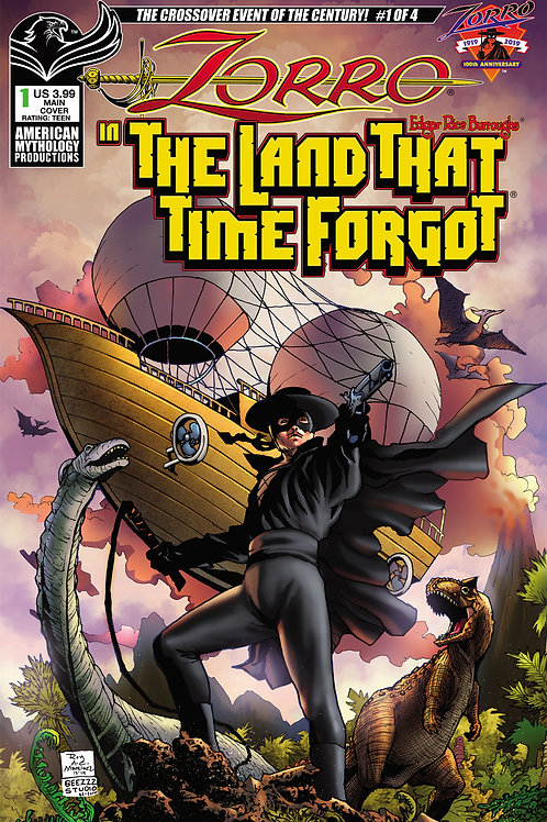Zorro In The Land That Time Forgot #1 Digital PDF Edition
