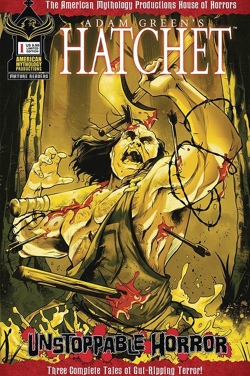 Hatchet Unstoppable Horror #1 Ltd Ed 1/350 Cvr