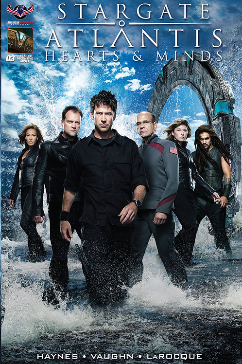 Stargate Atlantis Hearts & Minds #3 Retailer Incentive Flashback Photo Cover