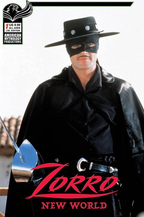 Zorro New World #1 Ltd Ed Photo Cvr