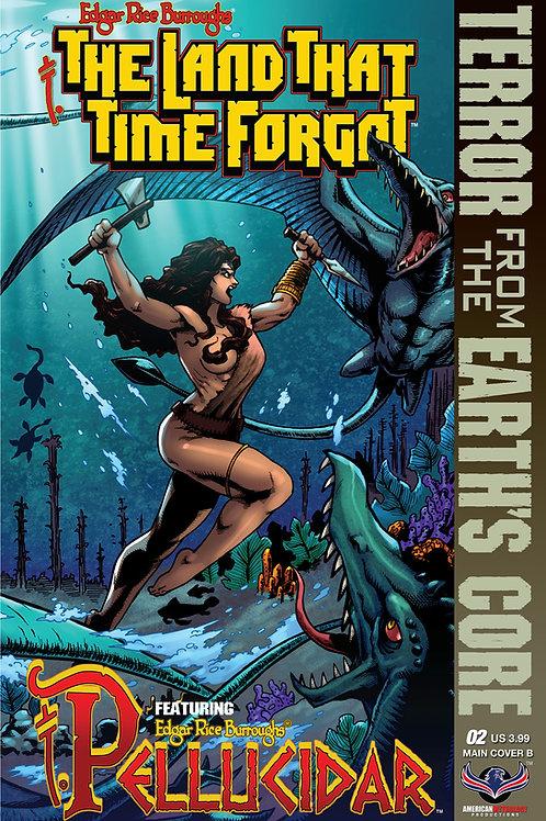 The Land That Time Forgot / Pellucidar #2 Cvr B Connecting