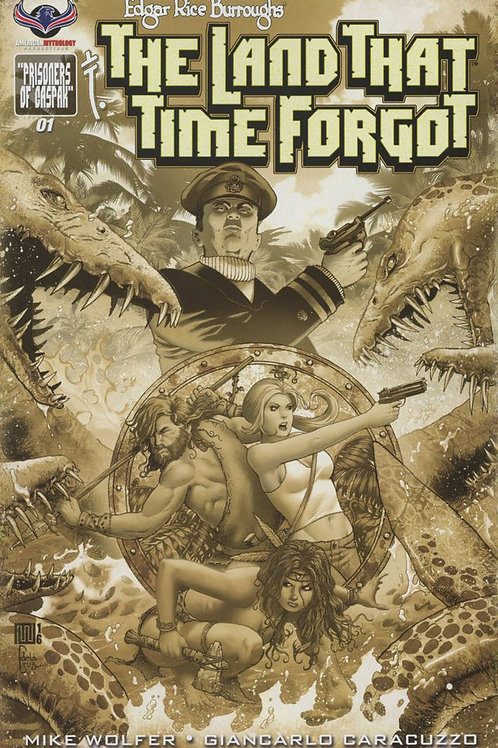 Virtual FCBD signed Wolfer & Jane - The Land That Time Forgot Ltd Ed #1