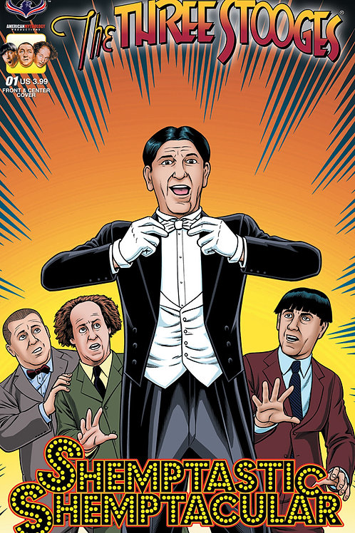 Three Stooges Shemptastic Shemptacular Fraim Bros Cover