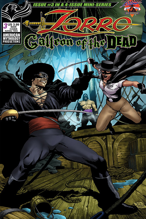 Zorro Galleon of the Dead #3 Digital PDF Edition