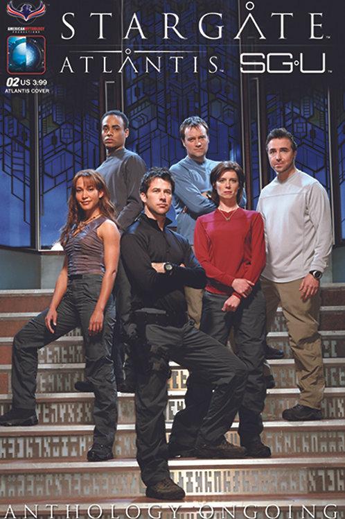 Stargate Atlantis Stargate Universe Anthology Ongoing #2 SGA Photo Cov