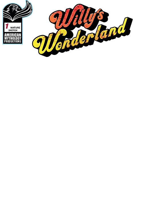 Willy's Wonderland Prequel #1 Blank Sketch Cvr