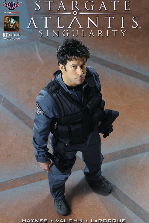 Stargate Atlantis Singularity #1 Photo Cover