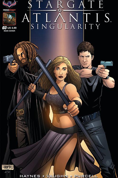 Stargate Atlantis Singularity #3 Hilinski Main Cover