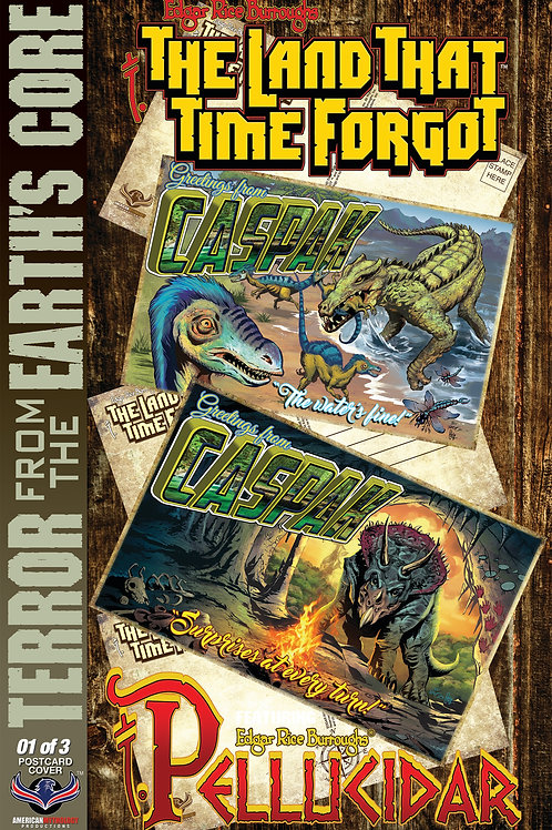 The Land That Time Forgot / Pellucidar #1 Postcard Retailer Incentive