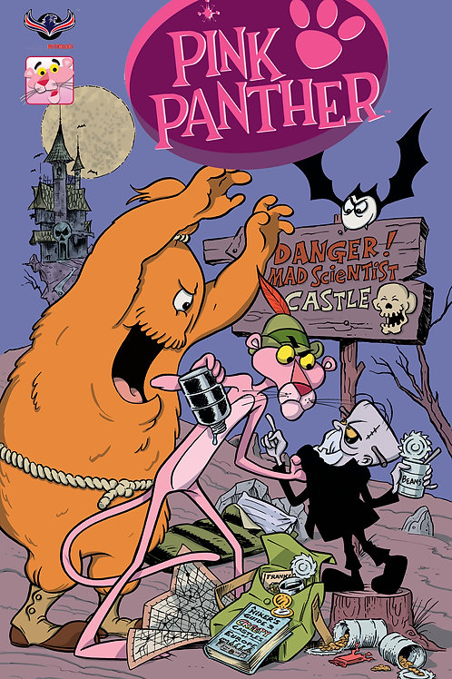 Pink Panther Trick or Pink #1 Pink HiJinks Cover