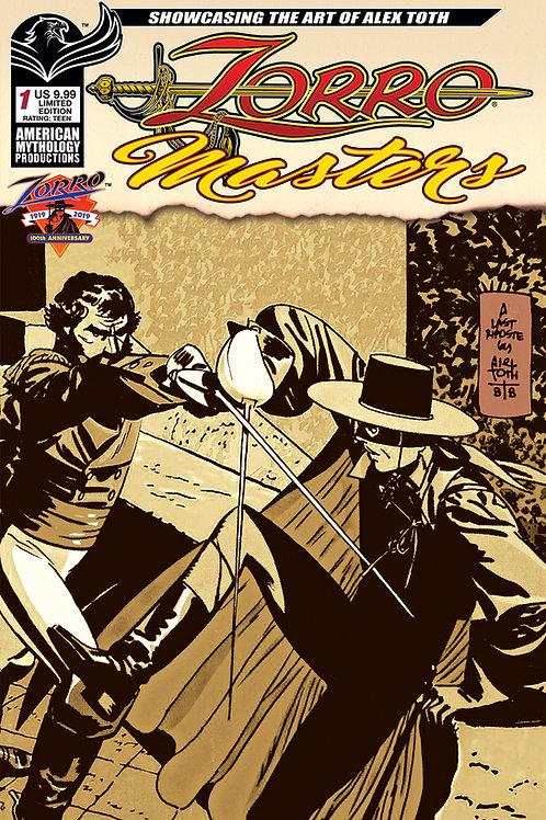 Zorro Masters Alex Toth #1 Ltd Ed 1/350 Cvr