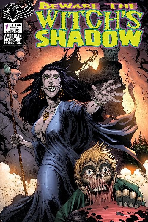 Beware the Witch's Shadow #1 Bonk Cvr