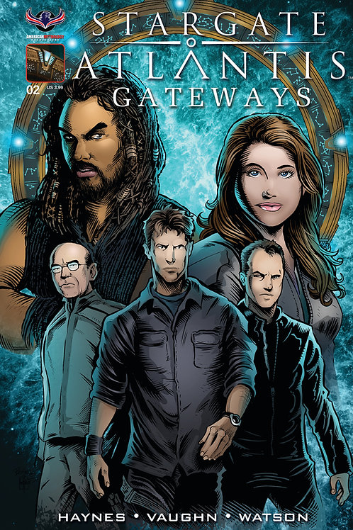 Stargate Atlantis Gateways #2 Buz Variant Cvr