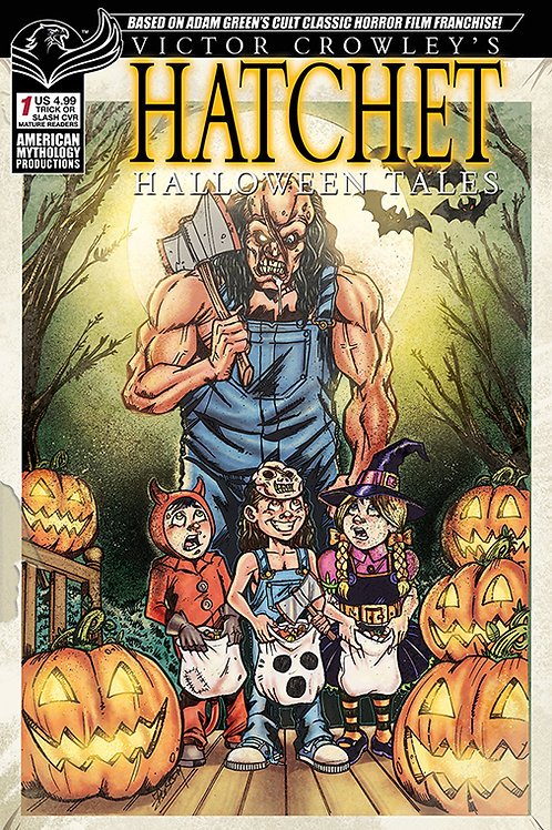 AM Exclusives! - Hatchet Halloween Tales #1 AM Shop Calazada Cvr