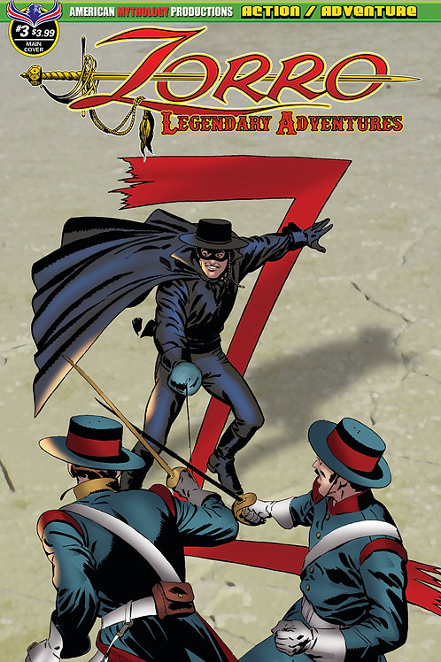 Zorro Legendary Adventures #3 Main Cvr